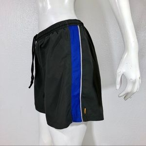 Lucy running performance shorts grey size S